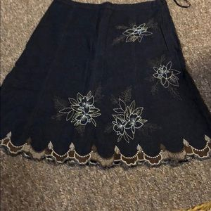 Blue skirt by tribal size10